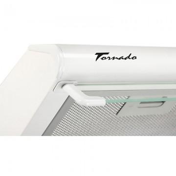 Poza Hota traditionala Tornado Bona 20 (50) LED, 2 motoare, latime 50 cm, absorbtie 560 m3/ora, filtru anti-grasimi aluminiu 5 straturi, Alb