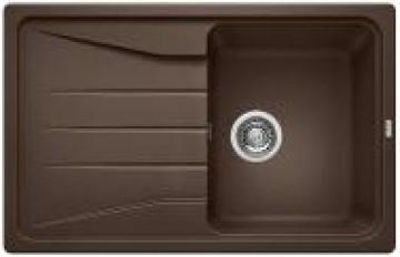 Chiuveta bucatarie BLANCO SONA 45 S SILGRANIT CAFEA fara exc. 519670
