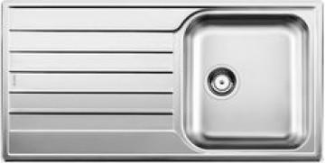 Chiuveta bucatarie BLANCO LIVIT XL 5 S 18/10 FINISAJ PERIAT fara exc. 515651