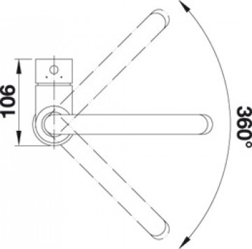 Baterie Bucatarie BLANCO MIDA SILGRANIT ANTRACIT  519415