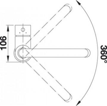 Baterie Bucatarie BLANCO MIDA SILGRANIT ALUMETALIC 519416