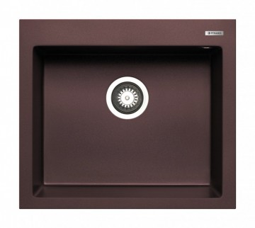 poza Chiuveta granit Pyramis ISTROS 57x50 1B Chocolate Pyramis 070044711