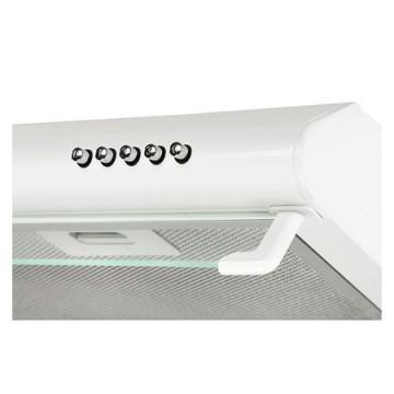 Poza Hota Traditionala Tornado Bona 20 (60) LED, 2 motoare, latime 60 cm, absorbtie 560 m3/ora, filtru anti-grasimi aluminiu 5 straturi, Alb, 11041