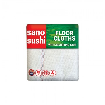 poza Laveta microfibra Sano Sushi Zigzag Floor Cloth 3buc/set