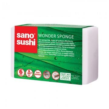 poza Burete vase Sano Sushi Magic Sponge 6x11x2.5cm